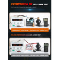 Crownova B2 9006 led headlight bulbs 8000 lumens 60W 6000K daylight white external driver with load resistor and anti-flicker CANbus decoder 2-pack